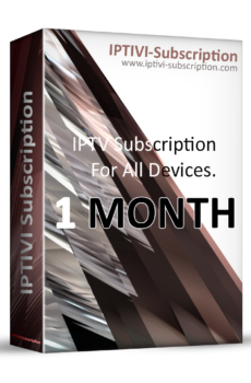 IPTV Subscription - IPTIVI Subscription - 1 Month - IPTV PACK