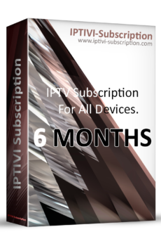 IPTV Subscription - IPTIVI Subscription - 6 Months - IPTV PACK
