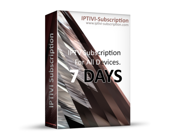 7 Days - Premium IPTV Subscription - IPTV M3U